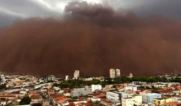 Tempestade de Areia, Mudanças Climáticas e Habitabilidade do Planeta