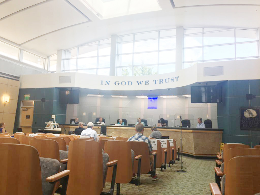 North Myrtle Beach City Council discusses budget amid COVID-19 cuts
