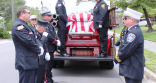 LFD Assistant Chief Larry Hickman laid to rest