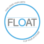 Round Float Fitness Logo