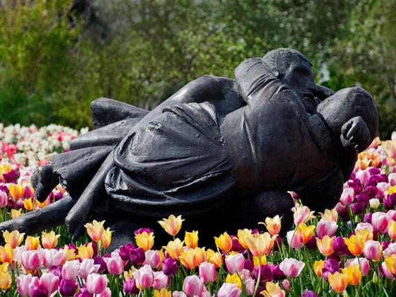 romance at the arboretum