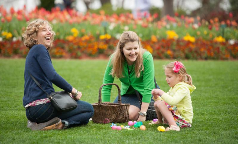 Easter at the Arboretum
