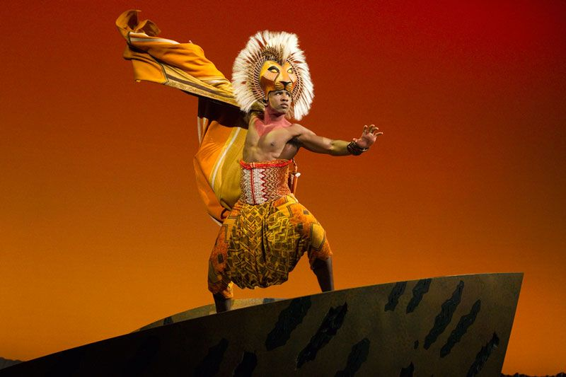The Lion King at the Dallas Summer Musicals