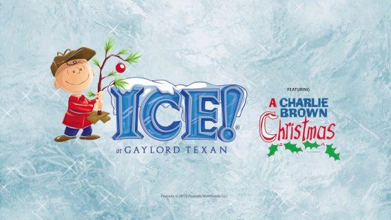 Ice Charlie Brown Christmas