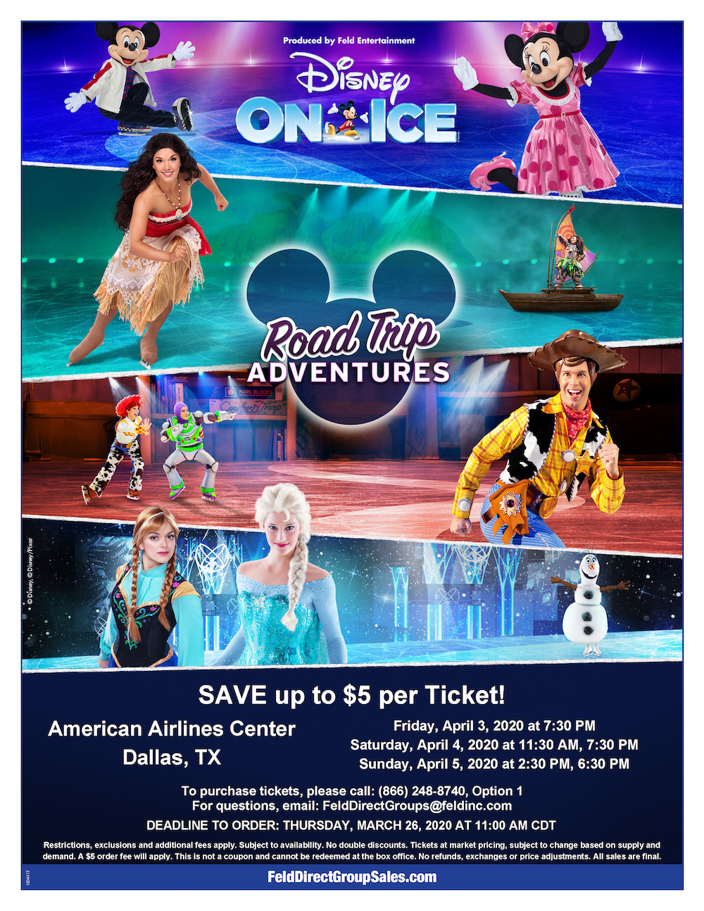 Disney on Ice Road Trip to Adventures