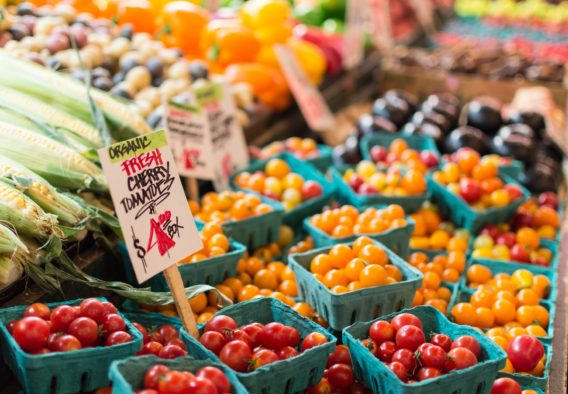 farmers market Photo by Anne Preble on Unsplash