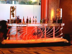 007 Bar 12 foot with two ice luges