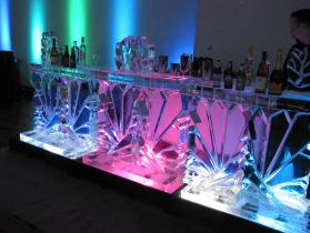 Crystal Ice Bar 12 ft State Room Boston MA