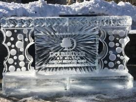 Doubletree Bedford Ice bar 8 ft