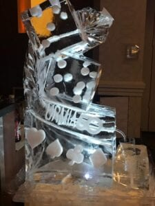 Dice Luge with logo