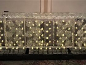 candlelight bar using Led lighting