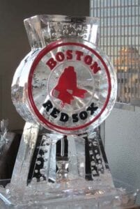 Boston Red Sox Ice Luge