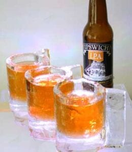 Beer ice Glasses