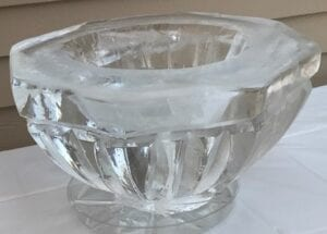 Clear Punch bowl
