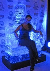 Coors Light Throne