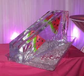 Large custom wedge luge