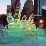 ice crystals in Copley square
