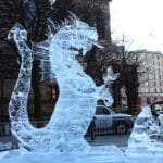 Dragon and Boy in ice