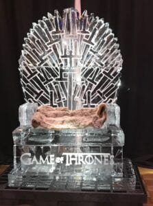 Game of Thrones great for indoors or outdoors, life size - guest sit in the throne wh