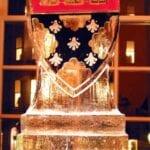 Harvard Law Logo Ice Sculpture