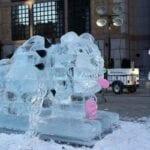 Buffy Ice Sculpture Boston
