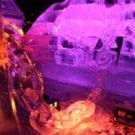 ice chain Boston ice sculpture