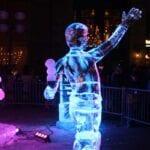 Ice Boy Ice Sculpture
