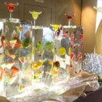 Table Top Margarita Bar Ice Sculpture