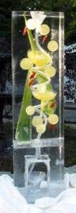 Margarita Cactus Ice Luge Sculpture