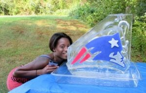 Patriots Shot Luge