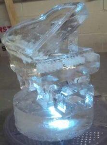 Ice Piano Centerpiece