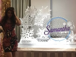 Samantha snowflakes