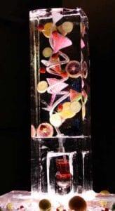 Sangria Ice Luge Sculpture