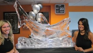 Shark shot luge large