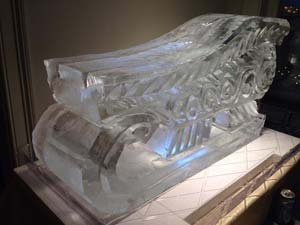Sleigh Shot Luge in ice