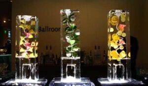Drink Luge Ice Bar Sculpture