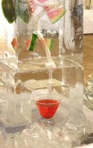 How it works Ice Luge Sculpture
