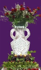 Standard Greek Vase Ice Sculpture