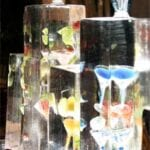 Table Top Martini Bar Ice Sculpture