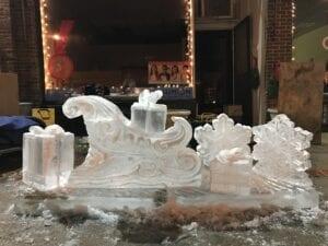 sliegh, snowflake and present demo '17