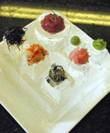 Ice Sushi plate