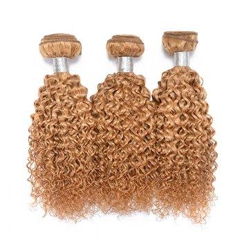 1 Pc Bouncy Brazilian 6A Virgin Kinky Curly Hair Weaves