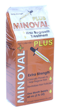Minoval Extra Strength Hair Regrowth Treatment 2oz/60ml
