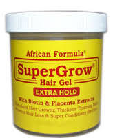 African Formula SUPER GROW Hair Gel with Biotin & Placenta Extracts (Large) 500ml/16oz