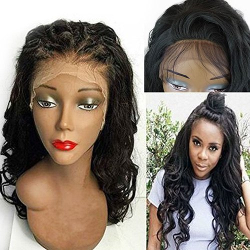 Lace Front Long Free Part Shaggy Wavy Synthetic Wig