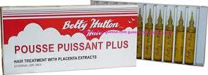 Betty Hutton Hair Treatment Amples 0.33 oz 10 pcs / 1 pack