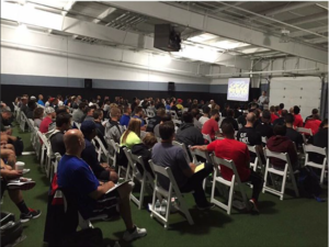 The Complete Speed and Power Summit was held at Reach Your Potential Training in Tinton Falls, NJ on Sept. 24-25