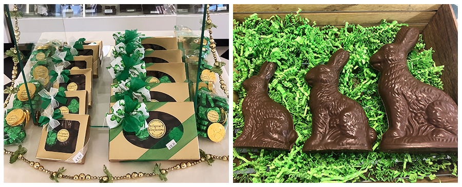 Capital Confections - St Patricks Day and Chocolate Bunnies