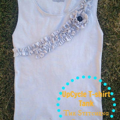 A Different Approach to the UpCycle T-Shirt Tank Top