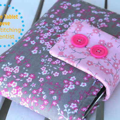 Simple 30 minute Tablet Case Tutorial